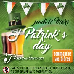 Bières pour la Saint Patrick