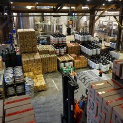 Le stock de la Brasserie Gallia