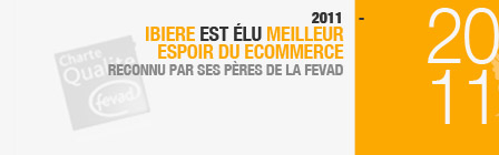 - 2011 IBIERE est élu meilleur espoir ecommerce. Reconnu par ses pères de la FEVAD