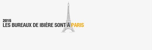 - 2015 les bureaux de ibière sont à PARIS