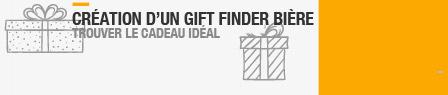 - 2017 création d'un GIFT Finder bière. Trouver le cadeau idéal