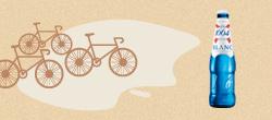Vous allez passer l'après-midi à suivre le Tour de France avec vos amis? Ne cherchez pas plus loin que la 1664 blanc, parfaite pour l'apéro, fidèle au poste pour désaltérer le gosier en regardant les autres faire du sport...