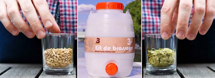 B Maker, Kit pour brasser sa propre bière