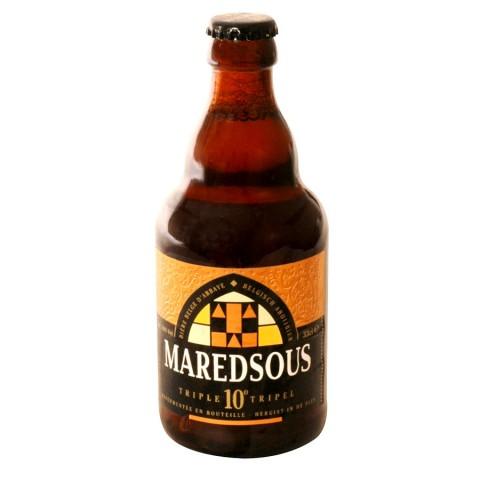 Maredsous Triple Ambrée 33 cl. Consommée lors de grandes occasions à l?abbaye Maredsous, la Maredsous Triple est une bière