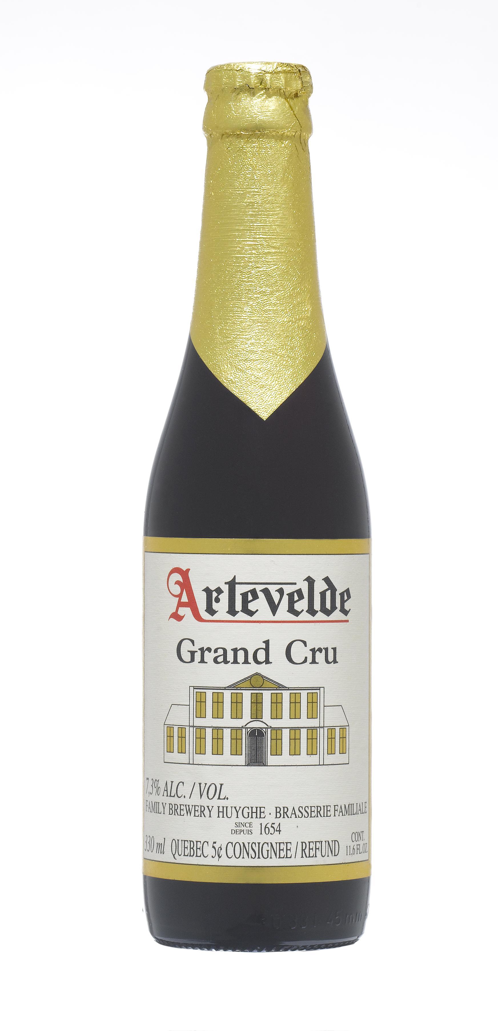 Bouteille de bière Artevelde Grand Cru 33cl. Bouteille de bière Artevelde Grand Cru 33clLa Bière Artevelde Grand Cru est une bi&e