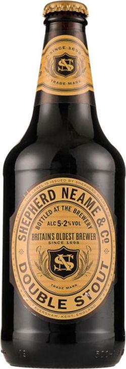 Shepherd Neame - Double Stout - 50cl. La Double Stout de Shepherd Neame est une bière brune brassée avec du houblon East Kent Golding et