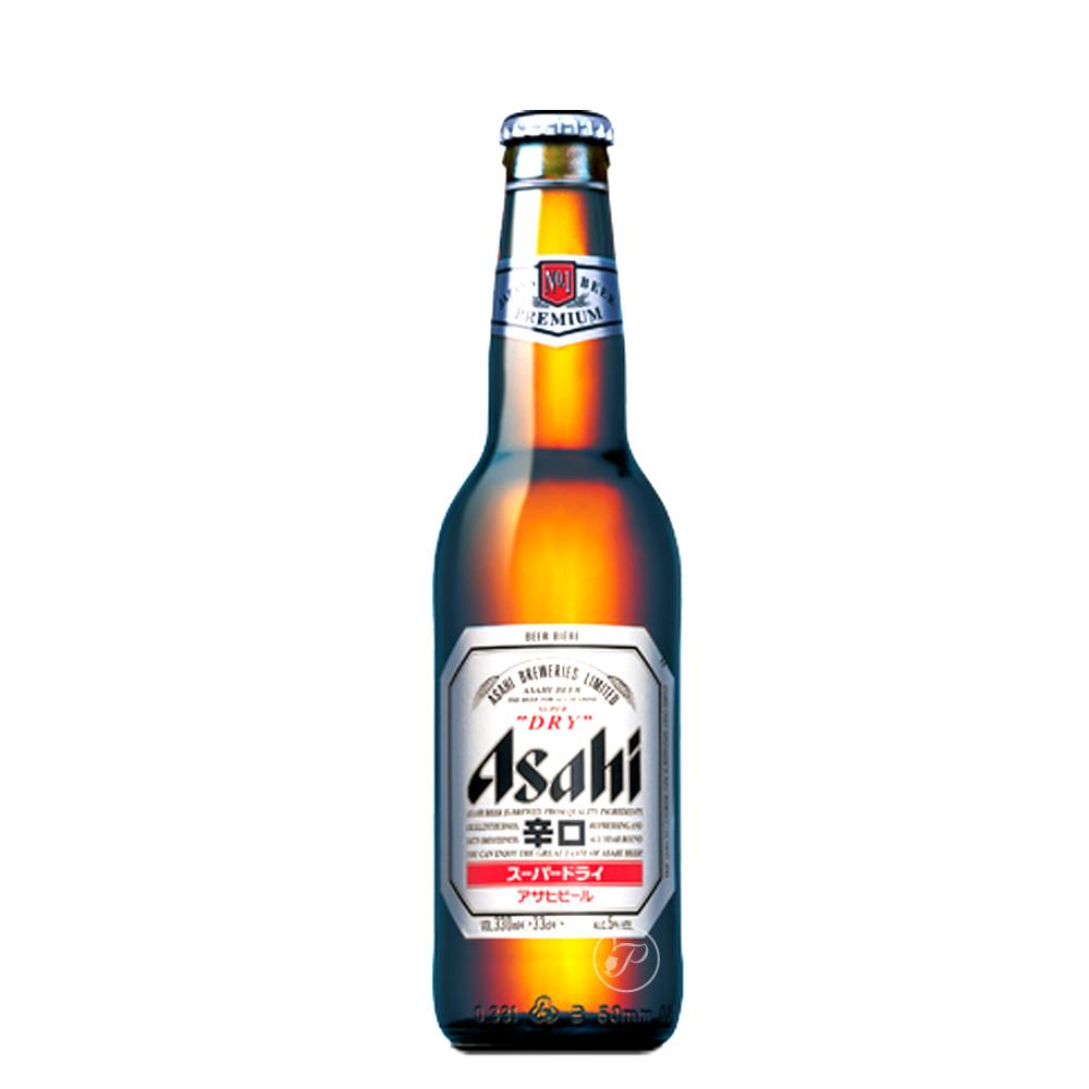 Bière Asahi Super Dry - Bière du Japon. La Asahi Super Dry est une bière blonde sèche de qualité, brassée de