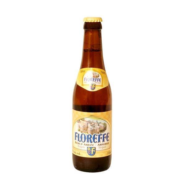 Bière belge FLOREFFE TRIPLE. Bière naturelle et non filtrée, la Floreffe Triple traverse une refermentation en bouteille et arbor