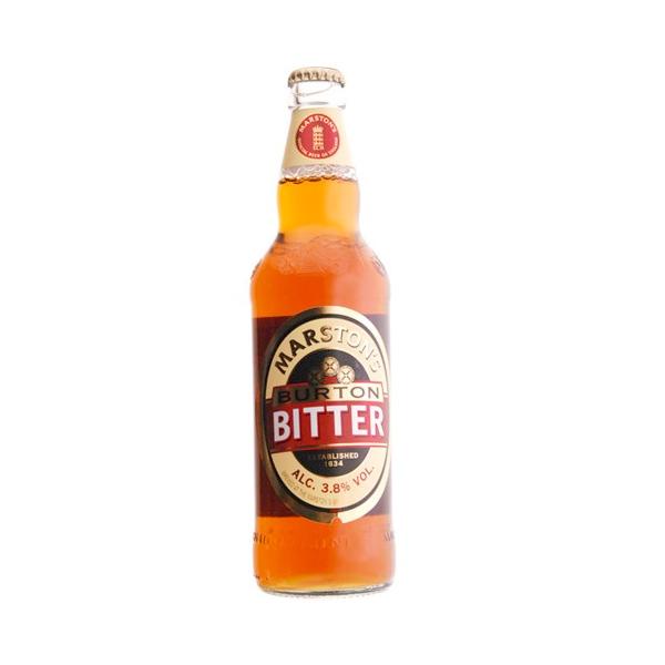Bouteille bière anglaise Burton Bitter. MARSTON'S BURTON BITTER La Marston's Burton Bitter est l'une des plus anciennes bières anglaises