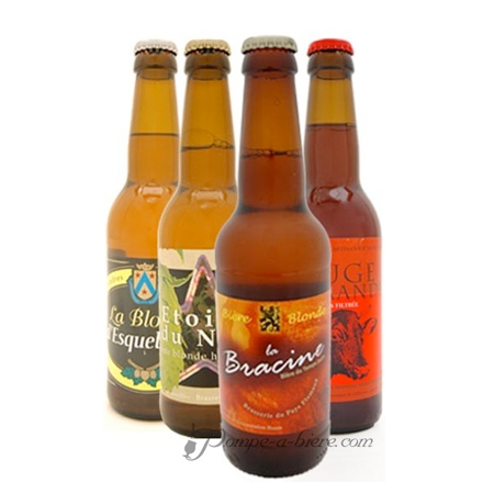 Bières 'les 4 Flamandes'