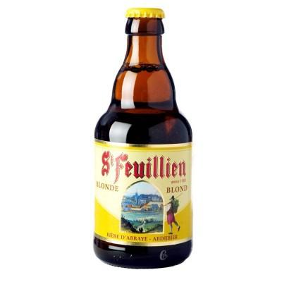 Bouteille St Feuillien blonde 33cl