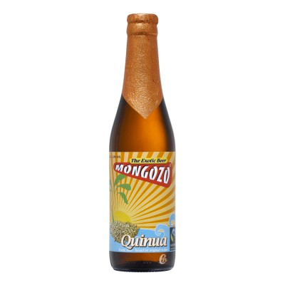 Mongozo Bière belge Quinua 33 cl
