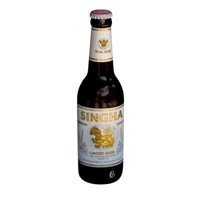 Bouteille Singha Beer Thailandaise 33cl