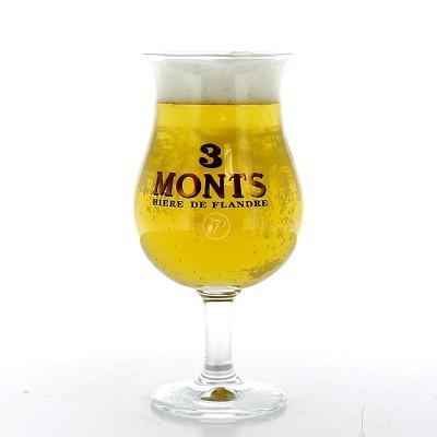 Verre à bière 3 monts 50cl