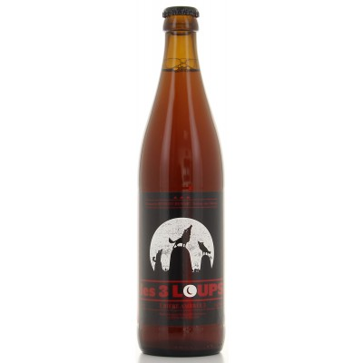 Bouteille de bière 3 Loups Ambrée 50cl