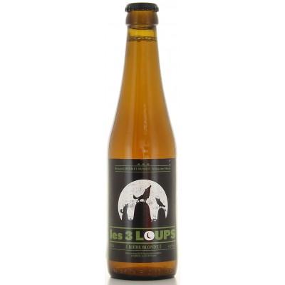 Bouteille de bière 3 Loups Blonde 33cl