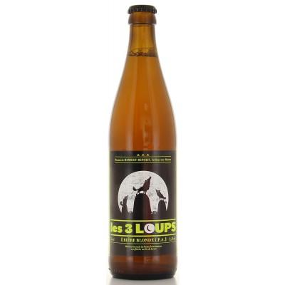 Bouteille de bière 3 Loups IPA 50cl