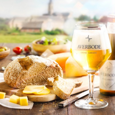 Bouteille Averbode, bière d'abbaye de 7.5°