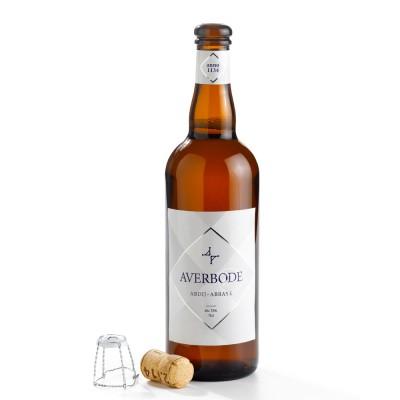 Bouteille Averbode, bière d'abbaye de 7.5° Débouché