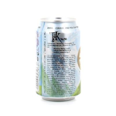 Canette Bevog - Tak Pale Ale (Bouteille de bière)