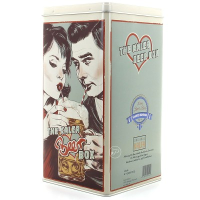 Coffret métal Biere Box - Love