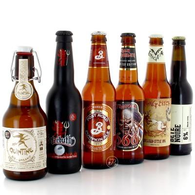 Sélection de Bières pour Halloween