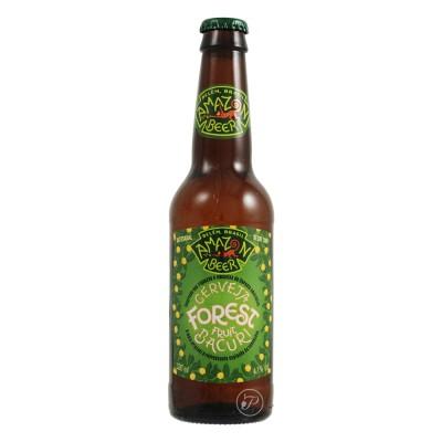 Bouteille de bière Brésil : Amazon Forest Bacuri Fruit Beer 33cl (Bouteille de bière)