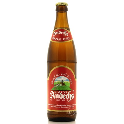 Bouteille de bière ANDECHS SPEZIAL HELL 5.9°