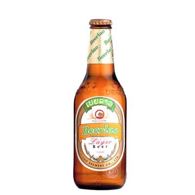 Bouteille de bière Beerlao lager