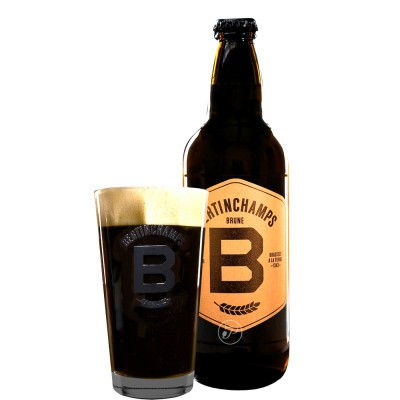 Bouteille de bière Bertinchamps brune 8° - 50cl (Bouteille de bière)