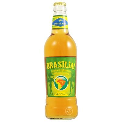 Bouteille de bière du Brésil Brasilia 50cl