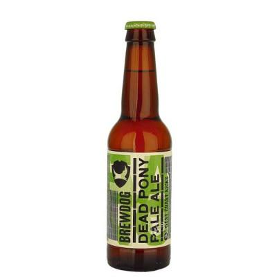 Bouteille de bière Brewdog Dead Pony 3,8° 33cl (Bouteille de bière)