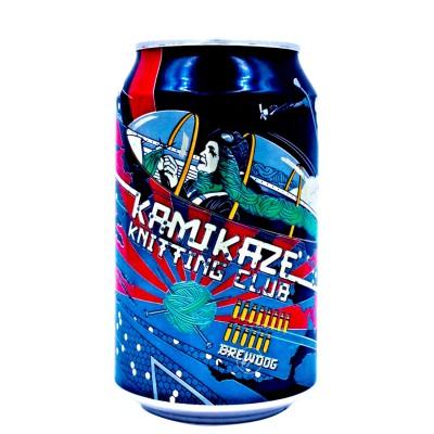 Canette Brewdog - Kamikaze Knitting - 33cl