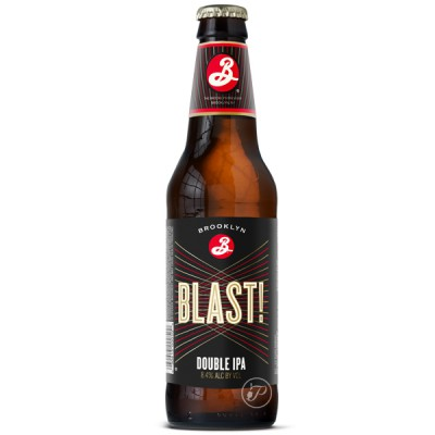 Bouteille de bière Brooklyn Blast! Ale 8,4° - 35,5cl