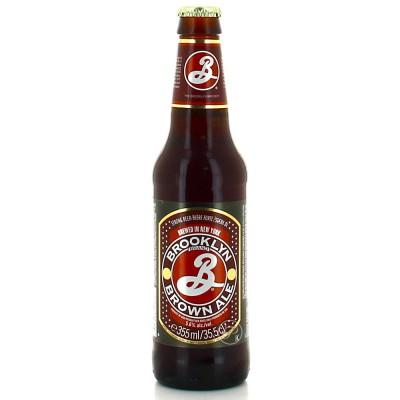 Bouteille de bière Brooklyn Brown 35,5cl (Bouteille de bière)