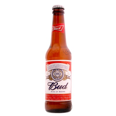 Bouteille Budweiser Americaine 33cl