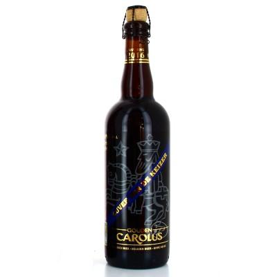 Bouteille de bière Carolus Keizer Bleu 75cl - 11°
