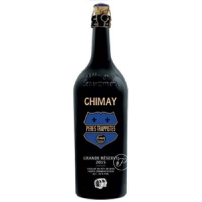 Bière Chimay Grande Réserve 2015 75cl. (Bouteille de bière)