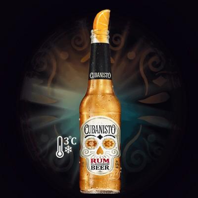 Bouteille de bière Cubanisto 33cl (Bouteille de bière)