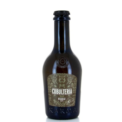 Bouteille de bière Karma Culbuteria 33cl