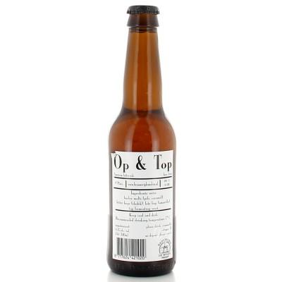 Bouteille de bière De Molen Op & Top 33cl