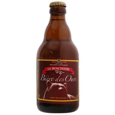 Bouteille Biere des ours au Miel 33cl