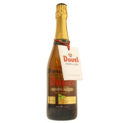 Bouteille belge Duvel Tripel Hop blonde 75cl