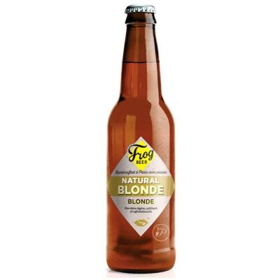 Bouteille FrogBeer - Natural Blond - 33cl (Bouteille de bière)