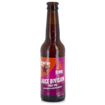 Bouteille de bière GALWAY BAY BELLWOODS JUICE DIVISION 7° VP 33CL (Bouteille de bière)