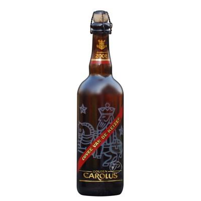 Bouteille de bière Carolus Keizer Rouge 75cl (Bouteille de bière)