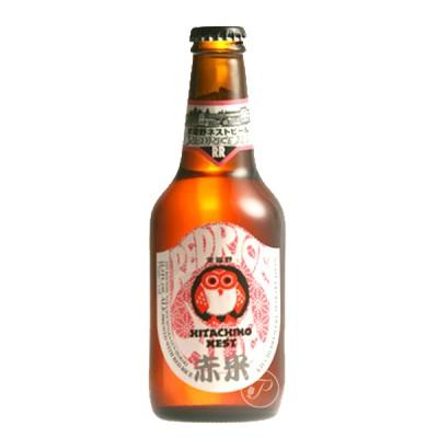 Bouteille de bière HITACHINO RED RICE 7.0° 33cl.