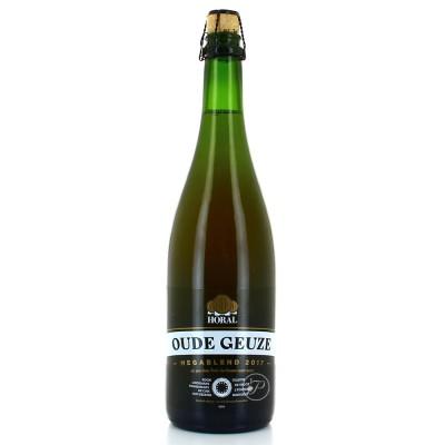 Bouteille de bière Horal Oude Gueuze Megablend 2017 - 75cl