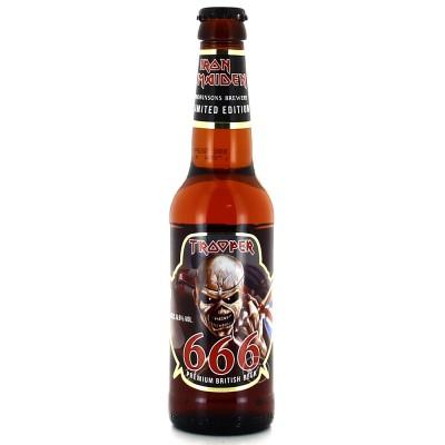 Bouteille de bière Iron Maiden 666 - 33cl