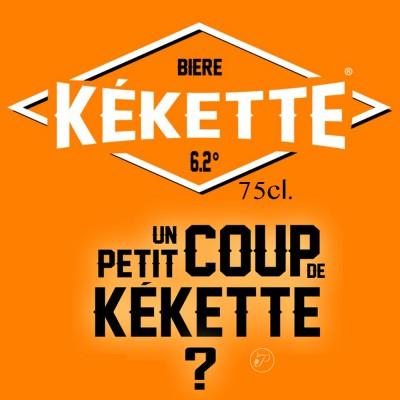 KÉKETTE Bouteille de bière 75 cl